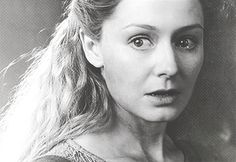 "Eowyn-   ""But no living man am I! You look upon a woman. Éowyn I am, Éomund's daughter. You stand between me and my lord and kin. Begone, if you be not deathless! For living or dark undead, I will smite you, if you touch him."""