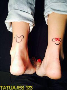Tatuajes inspirados en Disney