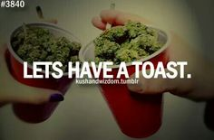 Let's have a toast