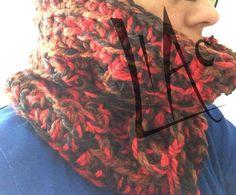 Cuello tejido de lana