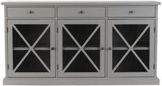 "Hampton Sideboard - Sideboard Buffet | HomeDecorators.com, Size 33""Hx62""Wx18""D, $629"