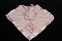 Small Wonders Pink Teddy Bear & Lady Bug Stuffed Animal Lovey Security Blanket in Baby, Nursery Bedding, Blankets & Throws | eBay
