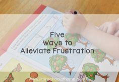 5 Ways to Alleviate Frustration