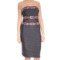 Rochie midi fara umeri Strapless Dress Formal, Formal Dresses, Casual, Fashion, Dresses For Formal, Moda, Fashion Styles, Fasion, Gowns
