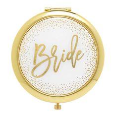 Gibson Pink and Gold Bridesmaid Pocket Compact Mirror Gift, 1 Pound Brides And Bridesmaids, Bridesmaid Gifts, Engagement Gifts, Wedding Engagement, Bride Gifts, Wedding Gifts, Android Wifi, Groom Pictures, Calendar Girls