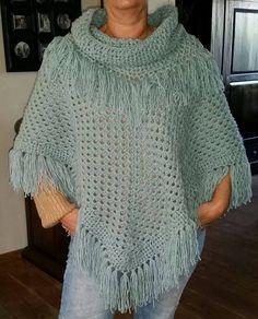 100 Beste Afbeeldingen Van Haken Poncho Crochet Poncho Crochet