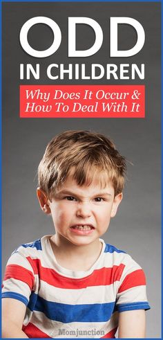 ODD In Children: Why Does It Occur And How To Deal With It : Don't ignore ODD in children, it might be dangerous. Read this post to know more about the causes and symptoms of oppositional defiant disorder. #kids #parenting #parentingtips