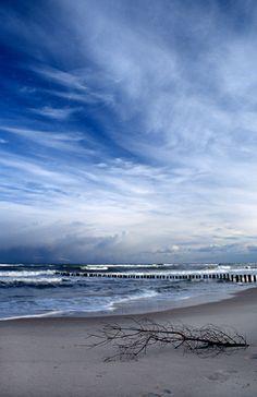 Baltic Sea - Mielno, Zachodniopomorskie  Where my last Rotary meeting in Poland was :( so beautiful