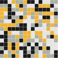 I Love Color Collection: Shining Glass Mosaic Tile Blend, sold by the sheet.