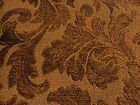 "1&7/8 yds HIGH END Cognac & Brown Leaf Chenille Heavy Upholstery Fabric 54"" w - &amp, #cognac, 1&amp7/8, Brown, Chenille, fabric, Heavy, high, LEAF, Upholstery"