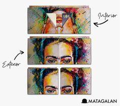 Billetera De Papel Tyvek Matagalan - Frida Kahlo