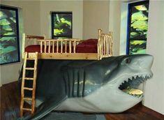 shark bed design