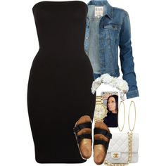featuring Fat Face, Michael Kors, Wolford, Chanel, Birkenstock and Social Anarchy Cute Swag Outfits, Komplette Outfits, Dope Outfits, Polyvore Outfits, Spring Outfits, Trendy Outfits, Fashion Outfits, Batman Outfits, School Outfits