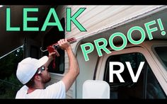 RV caulk - In this video, we show you how we resealed every inch of the exterior on our class c motorhome. There was extensive water damage and sealing the exterior with a high-quality caulk will prevent future leaks. Camper Repair, Class C Rv, Rv Redo, Fifth Wheel Trailers, Diy Rv, Rv Makeover, Rv Storage, Storage Ideas, Rv Campers