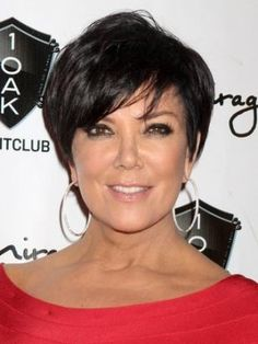 Kris Jenner Haircuts - Great Short Hair for Women over 50 - Kris Jenner gets a lot of attention for her short haircuts. Find out how to get the Kris Jenner haircut and try a few makeup tips from the Kardashian matriarch.