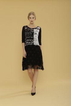 Ghost Dress, Black Combo (5888G)