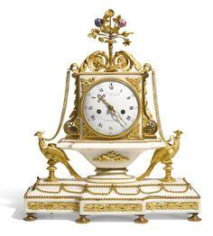 reloj estilo Luis XVI, por honore lieutaud, marsella, 1783