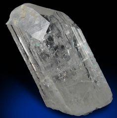 Mineral Specimens: Danburite with minor Calcite from Mina la Aurora, Charcas District, San Luis Potosi, Mexico