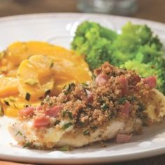 Quick Chicken Cordon Bleu - EatingWell.com