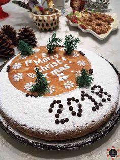 Εύκολη, πεντανόστιμη βασιλόπιτα κέικ, συνταγή του Άκη! Mushroom Tart, Kai, Learn Greek, New Year's Cake, Food Design, Yummy Cakes, Tiramisu, Food To Make, Cheesecake