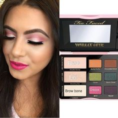 Too Faced Totally Cute Palette tutorial