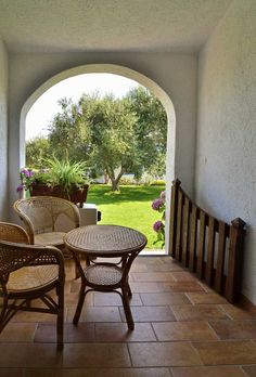 Agriturismo Guthiddai, Sardinia. Our idyllic estate has developed harmoniously within a landscape of pastures, vines and olive trees http://www.organicholidays.com/at/3202.htm