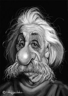 Albert  Einstein by Patrick Strogulski
