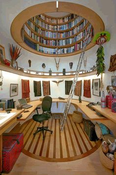 I'd LOVE to have a Library like this!