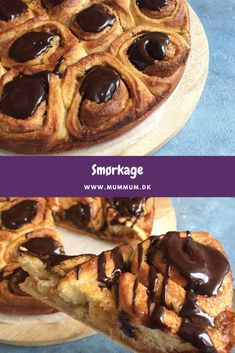 Sweet Recipes, Cake Recipes, Danish Food, Love Cake, Cakes And More, Bread Baking, Cake Cookies, Food Videos, Deserts