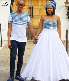 the best couples shweshwe dresses for We accept aggregate the ultimate account of couples analogous apparel account to advice booty your accord African Print Wedding Dress, African Wedding Attire, African Print Dresses, African Attire, African Wear, African Dress, African Weddings, Couples African Outfits, Couple Outfits