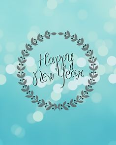 Happy New Year Printable | Creativecaincabin.com