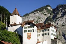 Wimmis Castle is a castle in the municipality of Wimmis of the Canton of Bern in Switzerland.