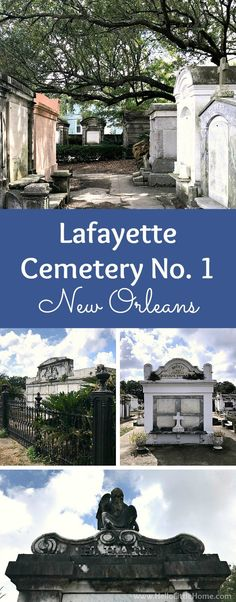 Historic Lafayette Cemetery No. 1 is one of the best things to do in New Orleans! Enjoy this photo-filled travel guide, then plan your own free self guided walking tour of this safe, easy to access Garden District cemetery!