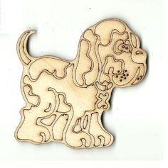 Puppy Dog - Laser Cut Wood Shape DOG70