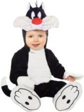 Looney Tunes Sylvester Costume for Babies-Halloween City