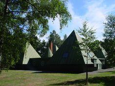 services building - Erik Gunnar Asplund 1920 Woodland Cemetery, Stockholm