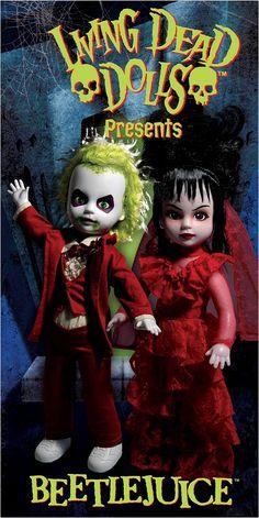 Living Dead Dolls Ingenious Living Dead Dolls Lydia Deetz beetlejuice Jouets Et Jeux