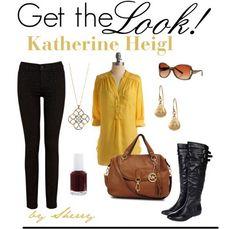 Get the Look! Katherine Heigl