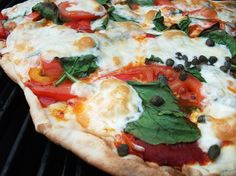 grilled pizza by a sweet road, via Flickr