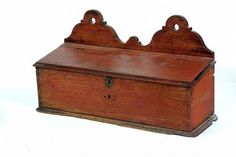 Buy online, view images and see past prices for AMERICAN HANGING CANDLE BOX. Invaluable is the world's largest marketplace for art, antiques, and collectibles. Antique Chest, Antique Boxes, Antique Decor, Primitive Furniture, Primitive Antiques, Primitive Decor, Painted Boxes, Wooden Boxes, Primitive Candles