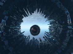 Extreme POV on a Torus Based Greeble