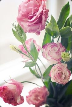 Lisianthus - looks like a very delicate rose