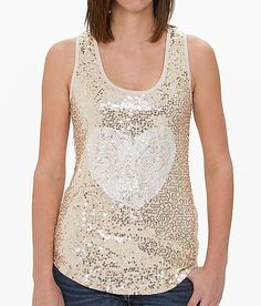 Daytrip Sequin Tank Top - LOVE and Goes with my wedding colors :)