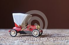 Background with vintage toy machine - plastic car Vintage Toys, Wooden Toys, Baby Strollers, Plastic, Car, Wooden Toy Plans, Baby Prams, Old Fashioned Toys, Wood Toys
