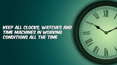 Why no stopped #timeMachines in our house #vastu tips. Get more from http://www.kvrastrovaastu.com/