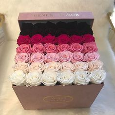 It wasn't that endured in the past that Ereck Flowers became trendy as an astronomic summary bust.Now, he's about to breach the bank. Flower Box Gift, Flower Boxes, Beautiful Rose Flowers, Rare Flowers, Rosen Arrangements, Floral Arrangements, Birthday Roses, Box Roses, Luxury Flowers