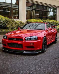 Skyline GT-R : Nissan Gtr R34, Nissan Skyline Gt R, Nissan Gtr Skyline, Maserati, Bugatti, Ferrari, Stance Nation, Supercars, Automobile