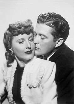 Barbara Stanwyck and Dennis Morgan - Christmas in Connecticut