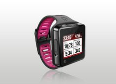 The Motorola Moto Actv fitness tracker. I NEED THIS! It's an MP3 player, GPS tracker, Work out planner, performance monitoring watch.