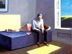 Edward Hopper – Excursion Into Philosophy – 1959 – Private Collection